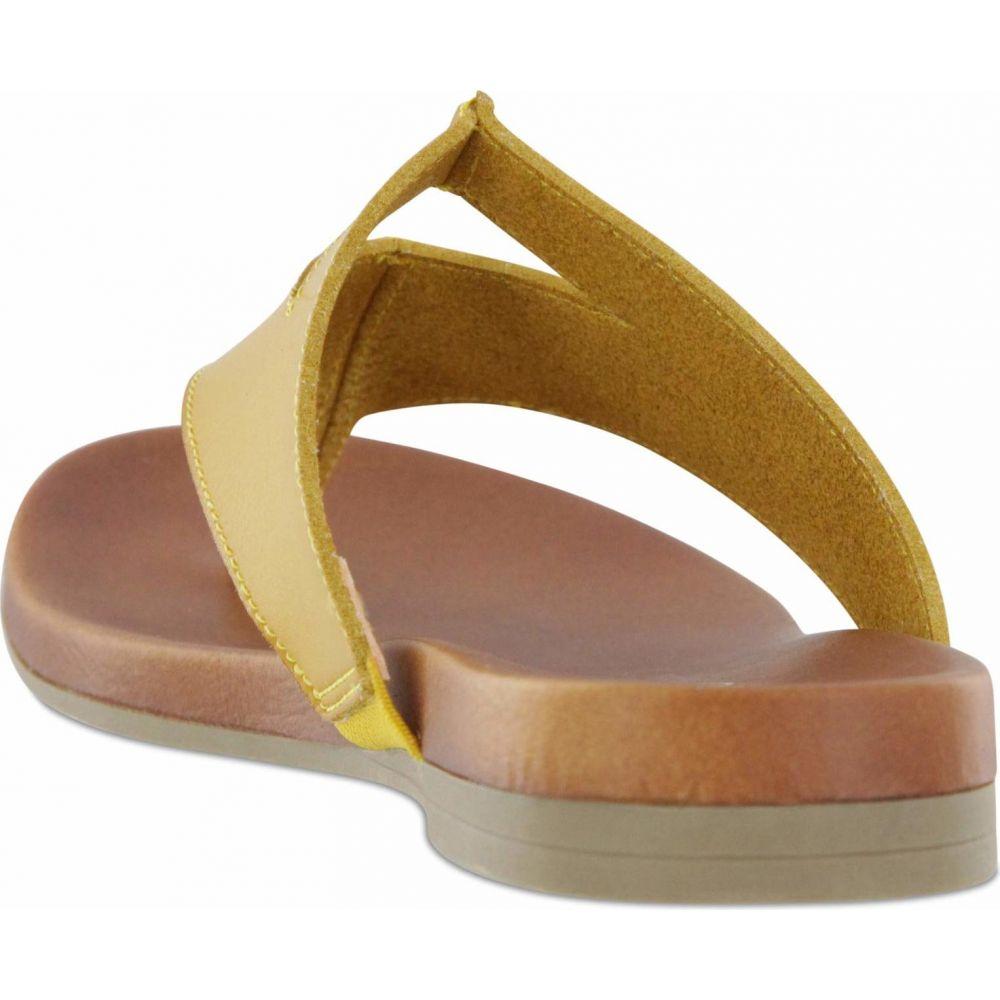 ミア MIA レディース ビーチサンダル シューズ・靴【Amore Patriciaa】Yellow