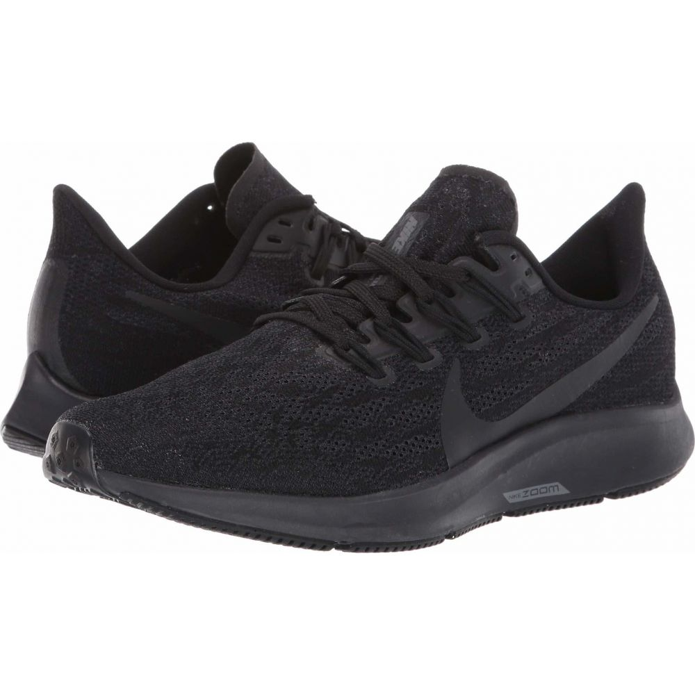 ナイキ Nike レディース ランニング・ウォーキング エアズーム シューズ・靴【Air Zoom Pegasus 36】Black/Black/Oil Grey/Thunder Grey