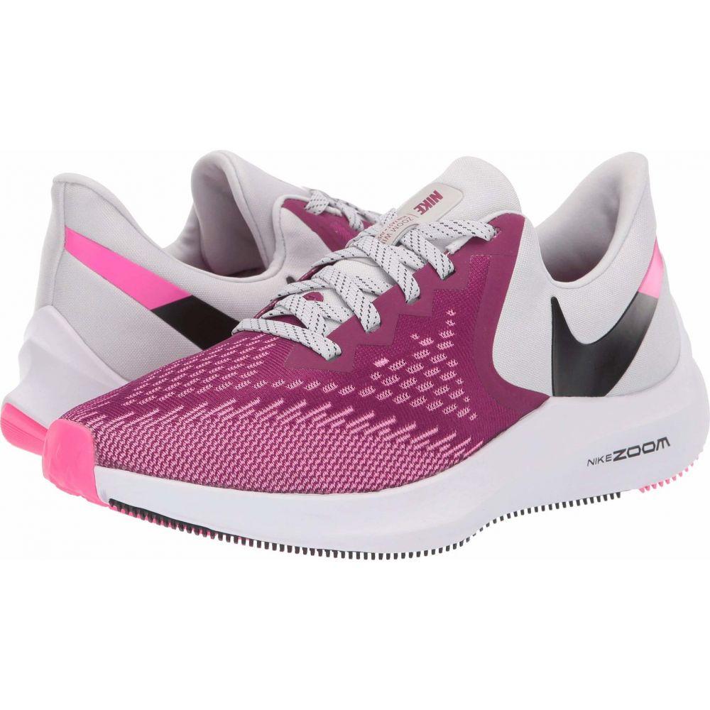 ナイキ Nike レディース ランニング・ウォーキング シューズ・靴【Zoom Winflo 6】True Berry/Black/Vast Grey/Pink Blast