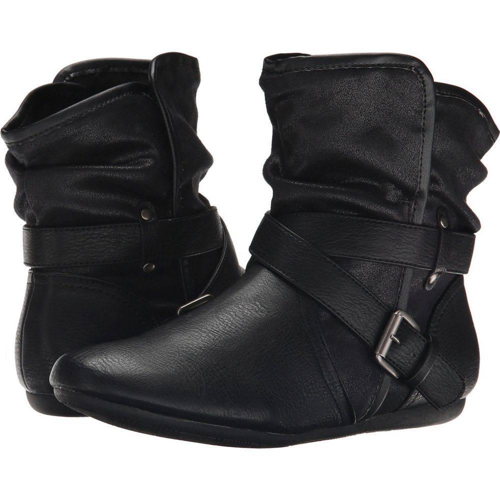 レポート Report レディース ブーツ シューズ・靴【Edelo】Black