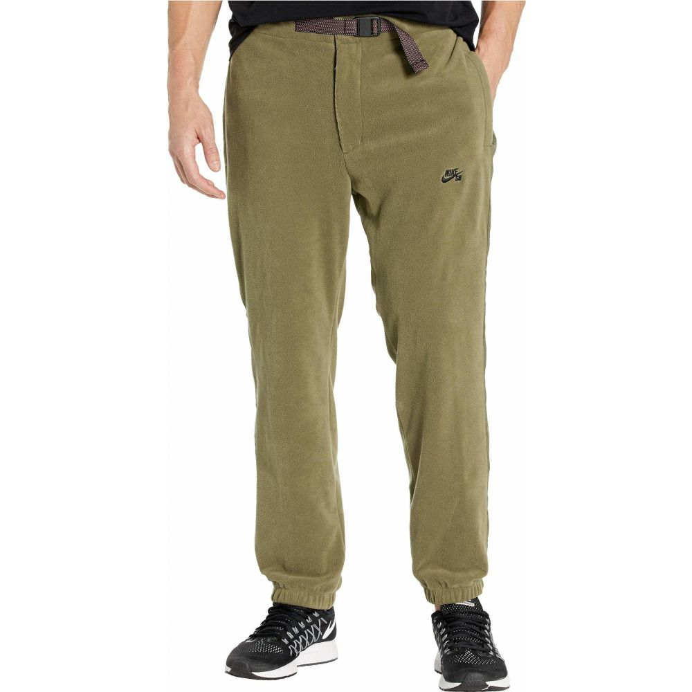 ナイキ Nike SB メンズ ボトムス・パンツ 【SB Novelty Fleece Pants】Medium Olive/Black
