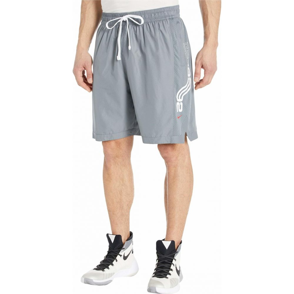 ナイキ Nike メンズ バスケットボール ショートパンツ ボトムス・パンツ【Kyrie Dry Shorts】Cool Grey/Cool Grey/University Red