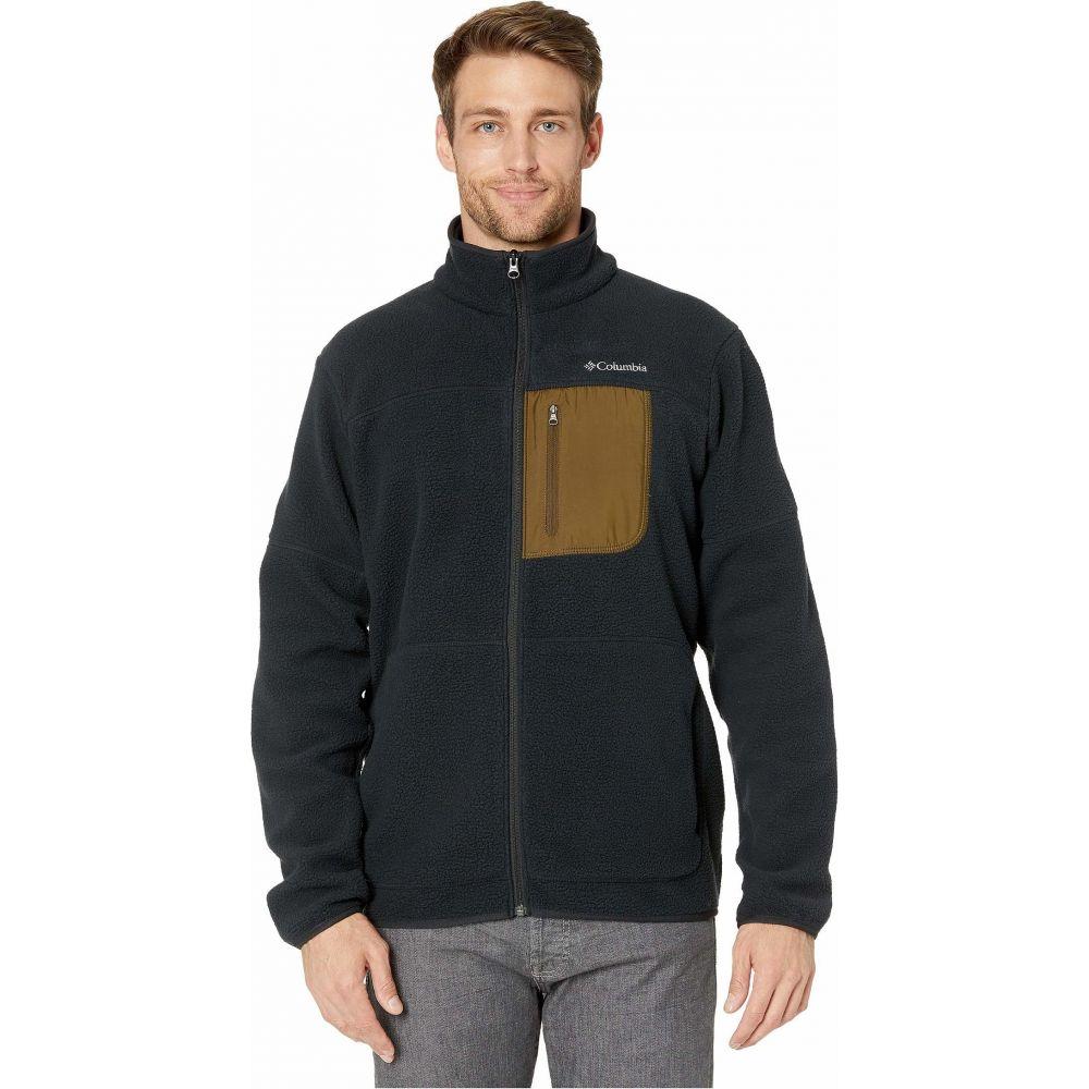 コロンビア Columbia メンズ フリース トップス【Rugged Ridge Sherpa Fleece】Black/Olive Green