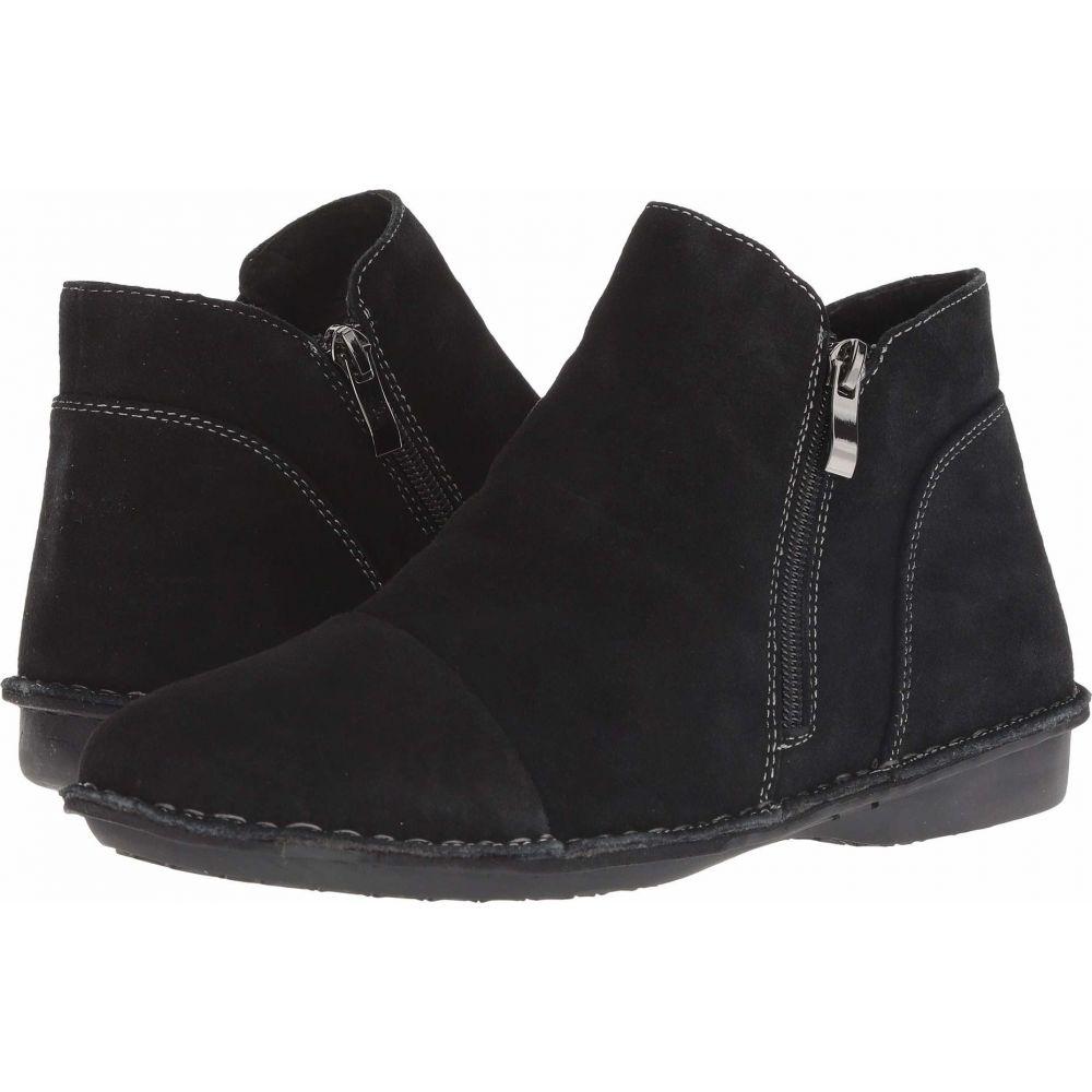 スプリングステップ Spring Step レディース ブーツ シューズ・靴【Kasey】Black Suede
