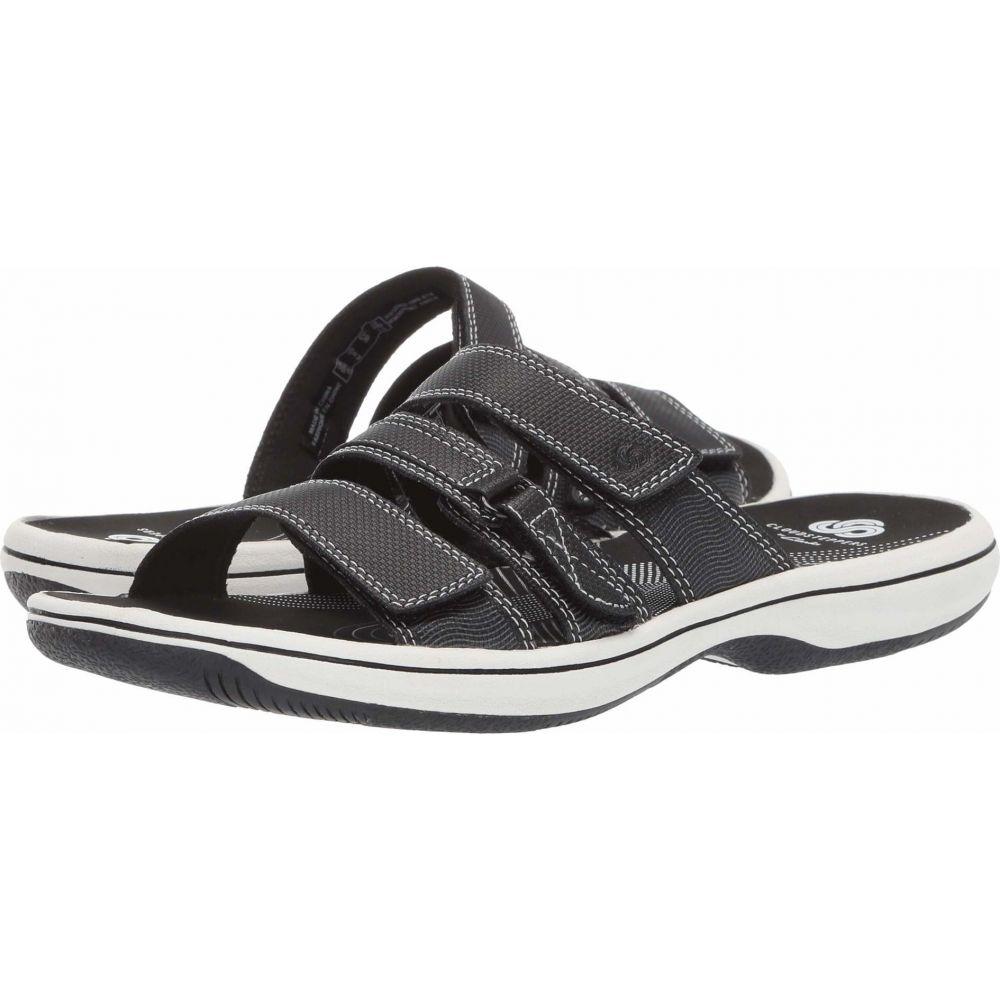 クラークス Clarks レディース サンダル・ミュール シューズ・靴【Brinkley Coast Boxed】Black Synthetic