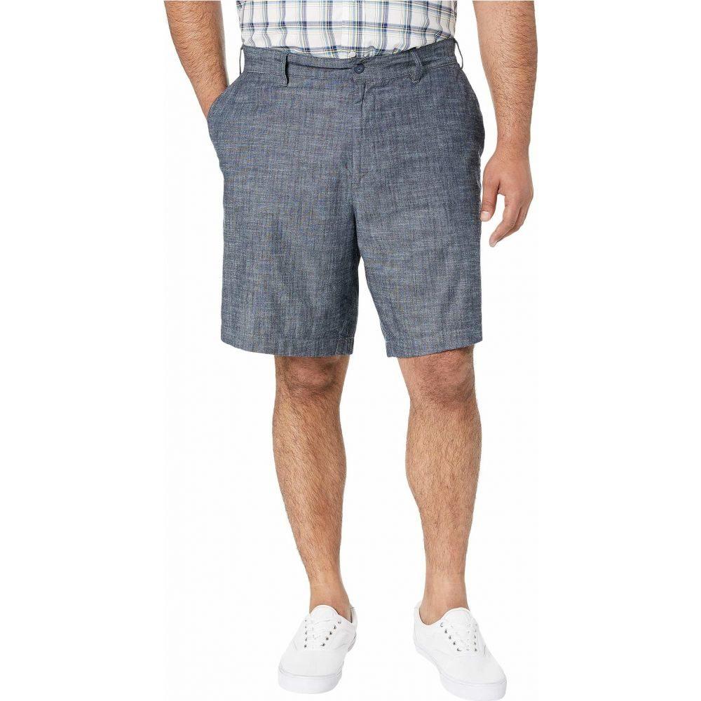 ノーティカ Nautica Big & Tall メンズ ショートパンツ 大きいサイズ ボトムス・パンツ【Big & Tall Chambray Shorts】Real Indigo Medium