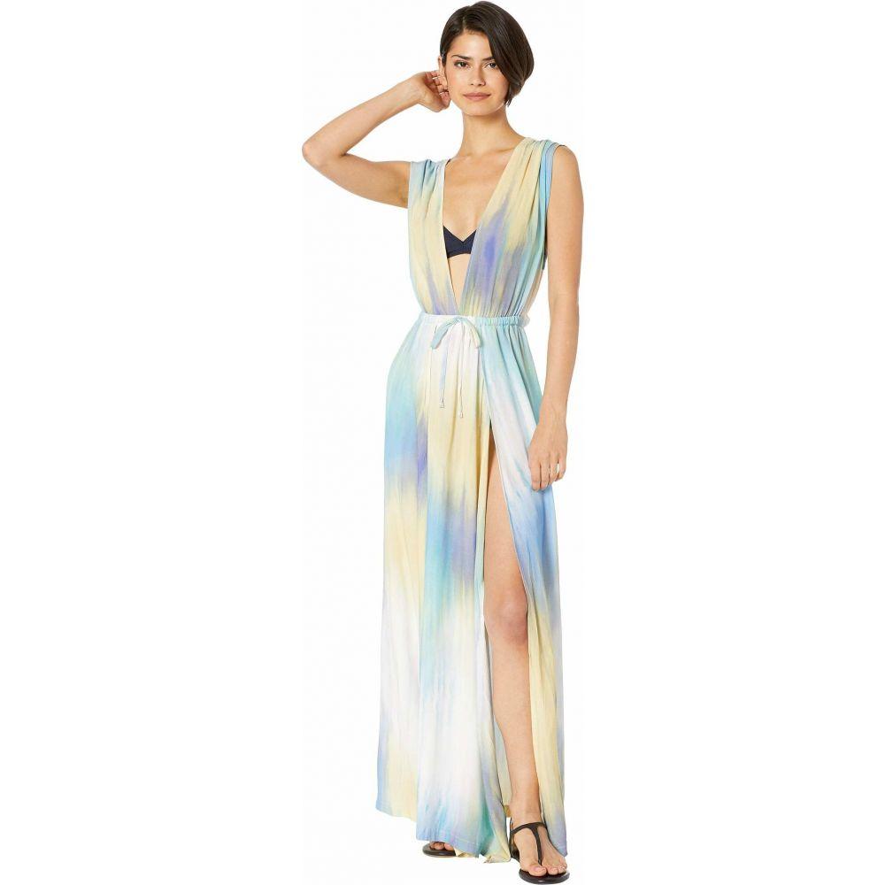 ビーシビージー BCBG レディース ビーチウェア ワンピース・ドレス 水着・ビーチウェア【It's A Wash Overlap Maxi Dress Cover-Up】Multi