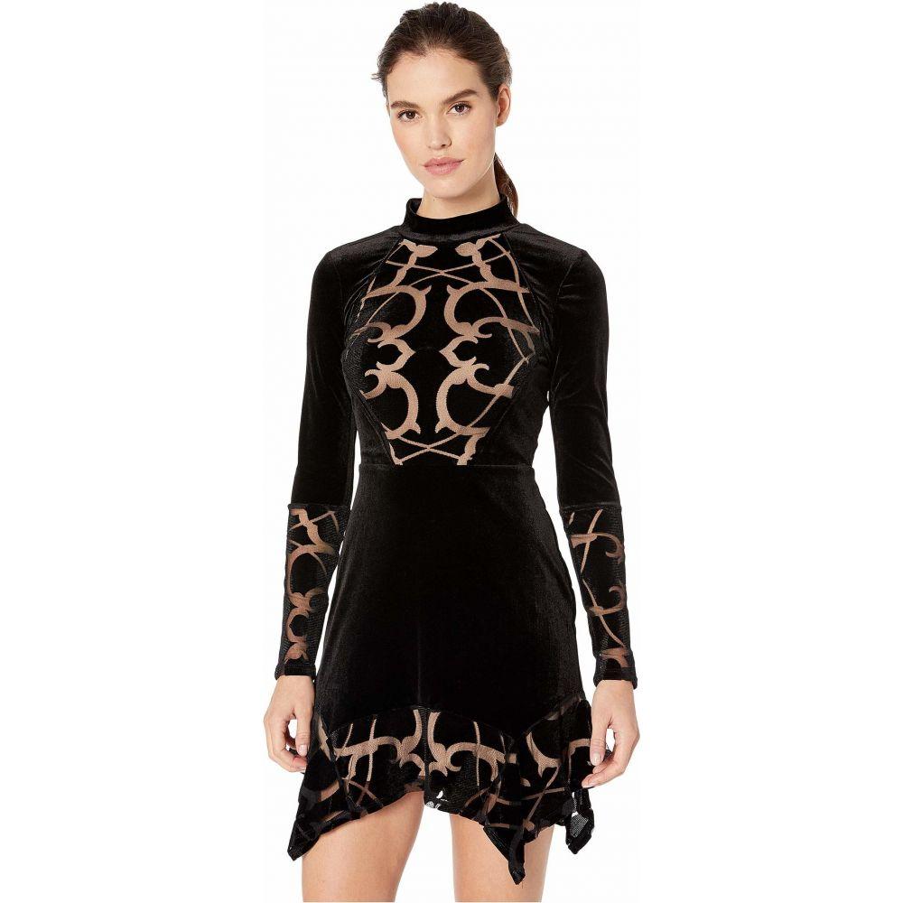 ビーシービージーマックスアズリア BCBGMAXAZRIA レディース ワンピース ワンピース・ドレス【Long Sleeve Knit Dress】Black