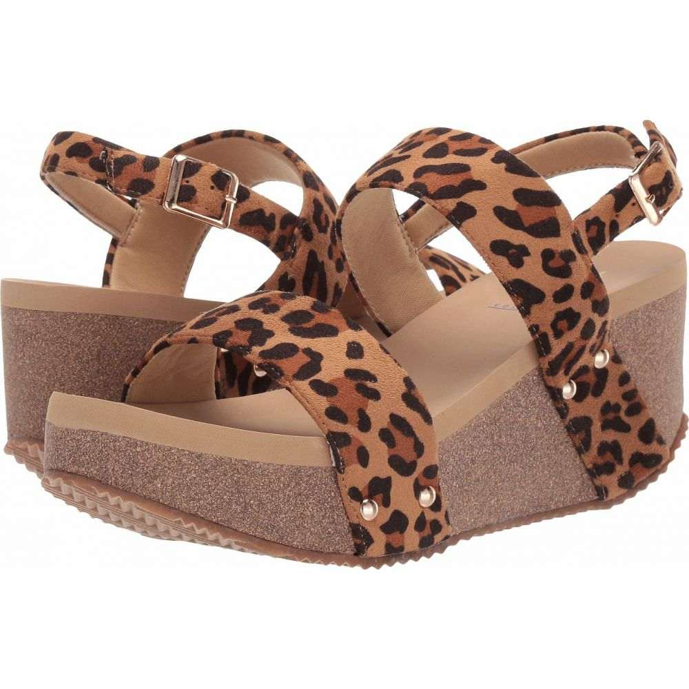 ボラティル VOLATILE レディース サンダル・ミュール シューズ・靴【Kitana】Tan Leopard