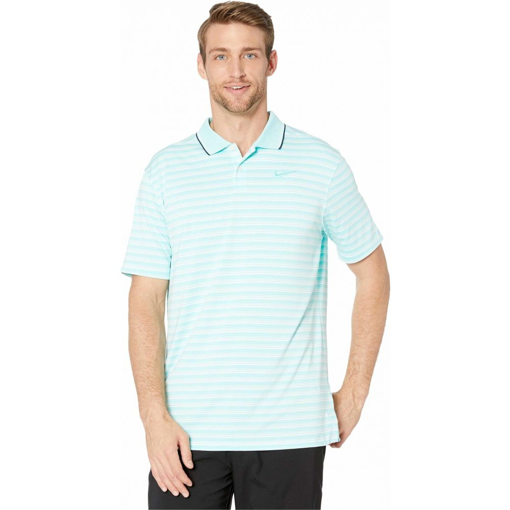 ナイキ Nike Golf メンズ ポロシャツ トップス【Dry Vapor Polo】Light Aqua/Pure/Light Aqua