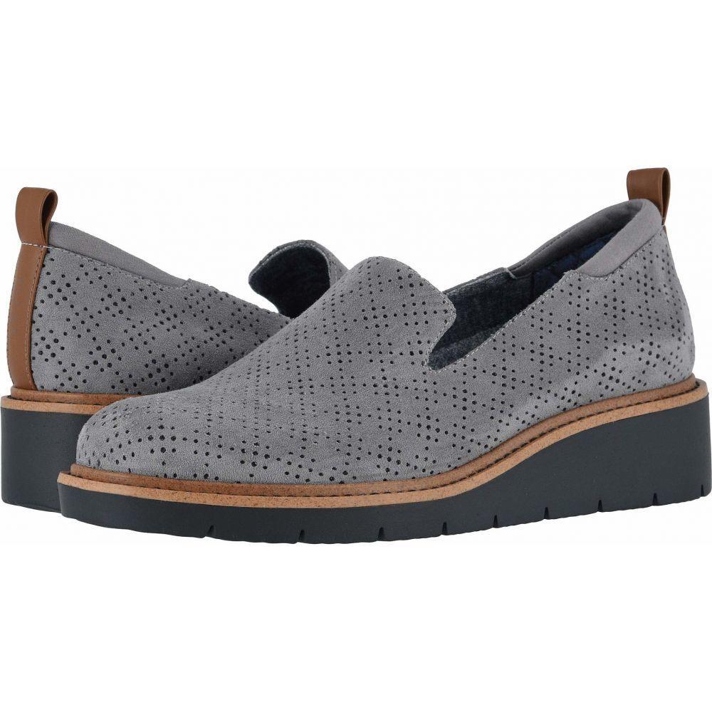 ドクター ショール Dr. Scholl's レディース ローファー・オックスフォード シューズ・靴【Sidekick】Dark Shadow Grey Microfiber
