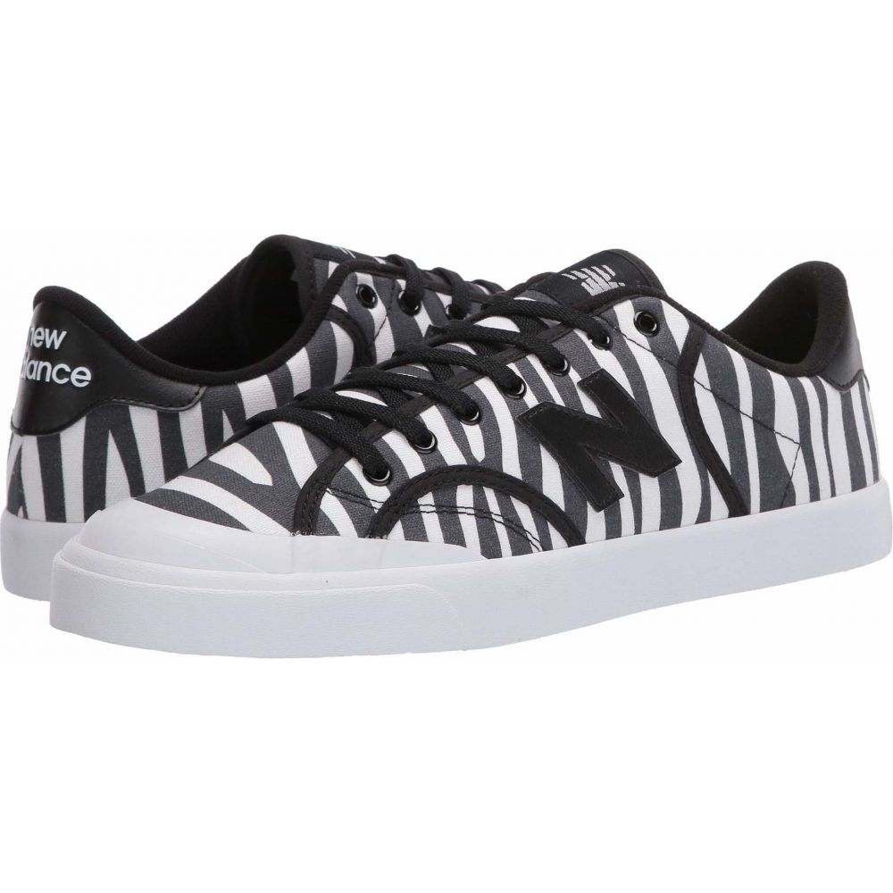 ニューバランス New Balance Classics メンズ スニーカー シューズ・靴【Pro Court Print】Zebra/Black