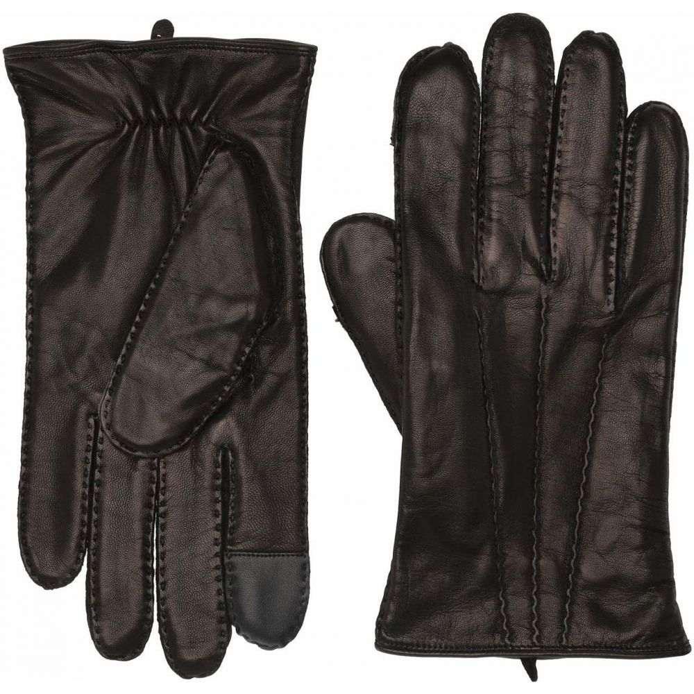 フライ Frye メンズ 手袋・グローブ 【Goatskin Extended Three Point Gloves】Black