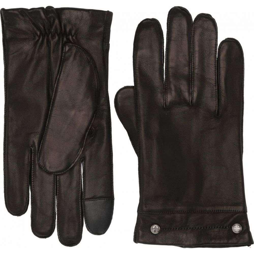 フライ Frye メンズ 手袋・グローブ 【Goatskin Phillips Head Studded Gloves】Black