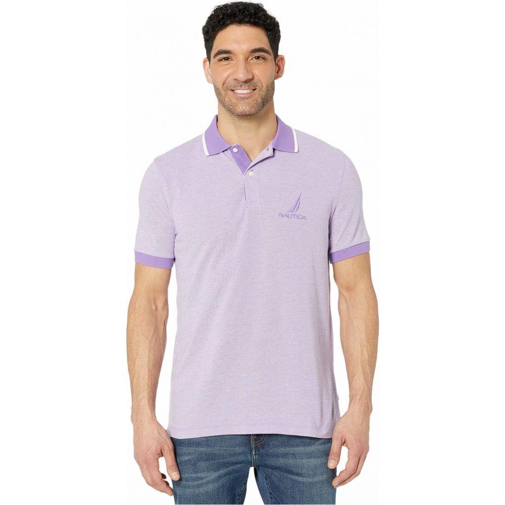 ノーティカ Nautica メンズ ポロシャツ トップス【Oxford Polo】Purple
