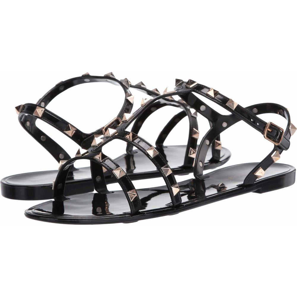 スティーブ マデン Steve Madden レディース サンダル・ミュール フラット シューズ・靴【Dayten Flat Sandal】Black
