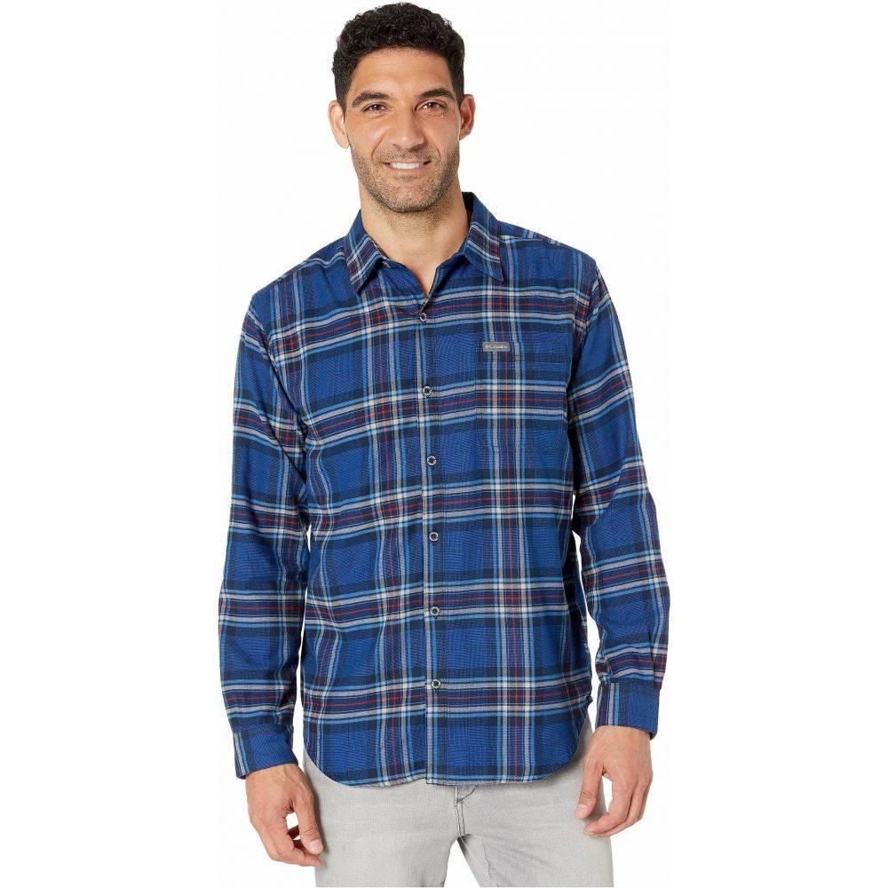 コロンビア Columbia メンズ シャツ トップス【Boulder Ridge Long Sleeve Flannel】Azul Tartan