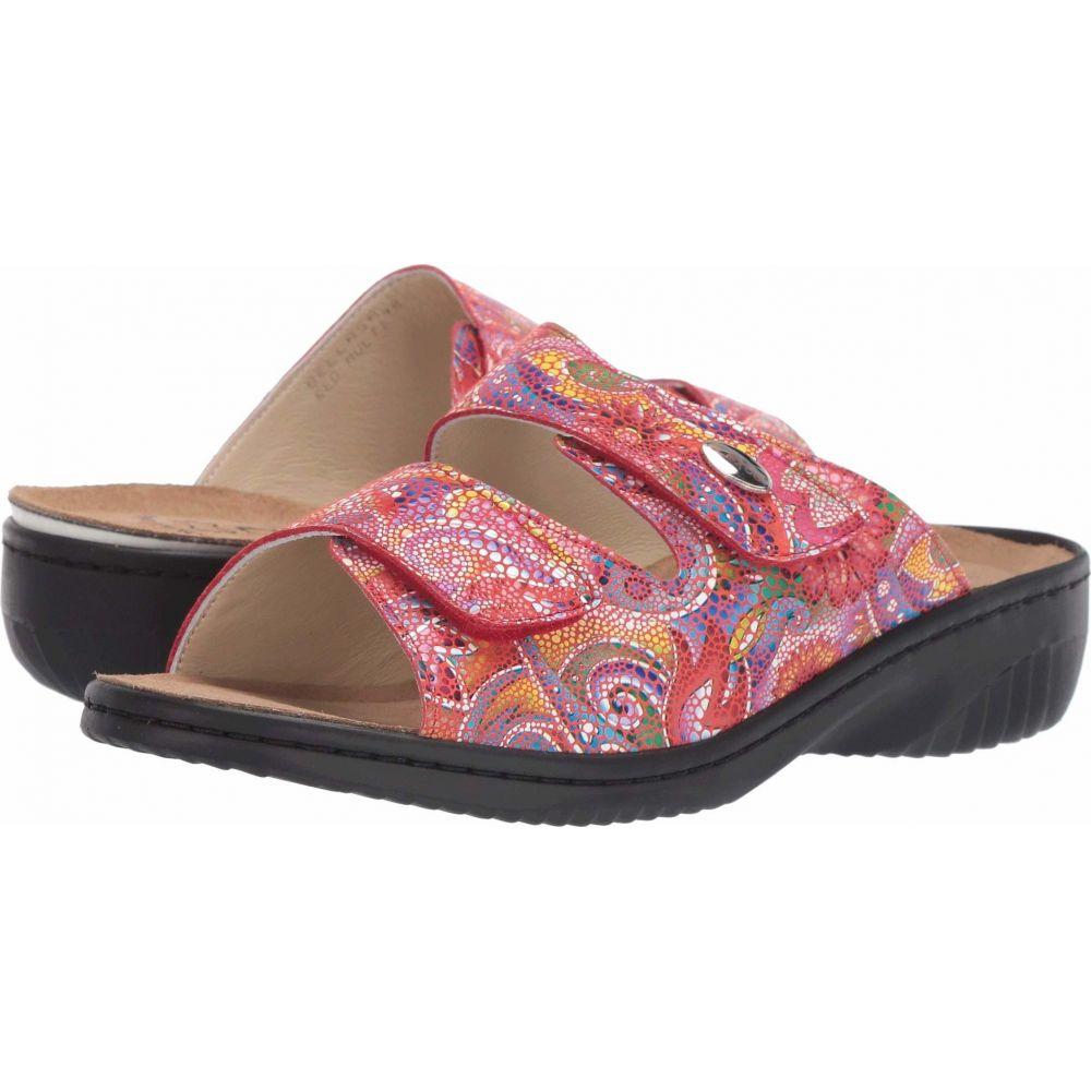 スプリングステップ Spring Step レディース サンダル・ミュール シューズ・靴【Bellasa】Red Multi