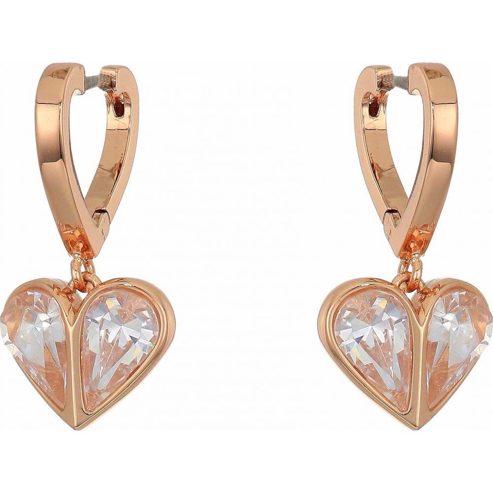 ケイト スペード Kate Spade New York レディース イヤリング・ピアス ハート ジュエリー・アクセサリー【Rock Solid Stone Heart Huggies Earrings】