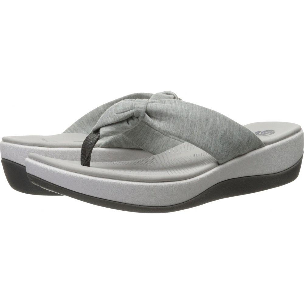 クラークス Clarks レディース ビーチサンダル シューズ・靴【Arla Glison】Grey Heather Fabric