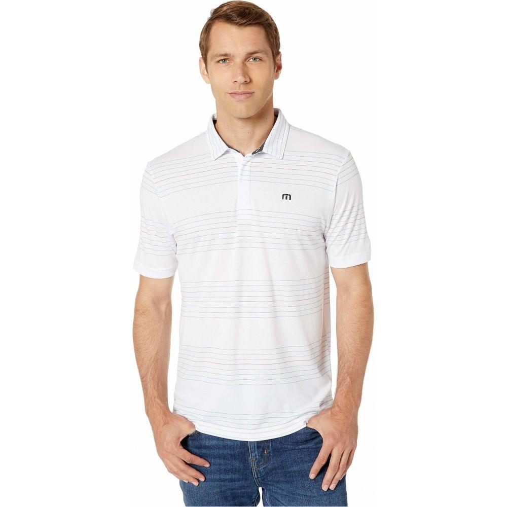 トラビスマシュー TravisMathew メンズ ポロシャツ トップス【Gooden Polo】White