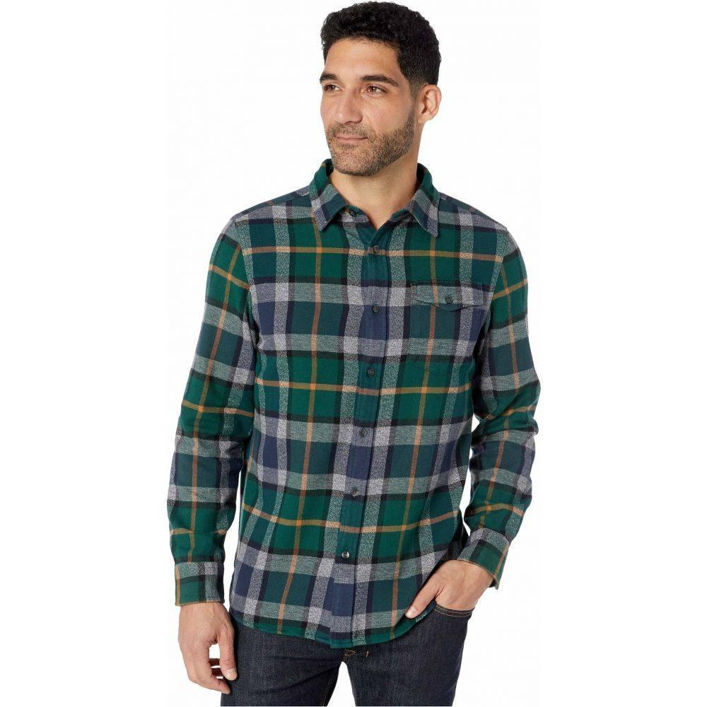 ザ ノースフェイス The North Face メンズ シャツ フランネルシャツ トップス【Long Sleeve Arroyo Flannel Shirt】Night Green Speed Wagon Plaid