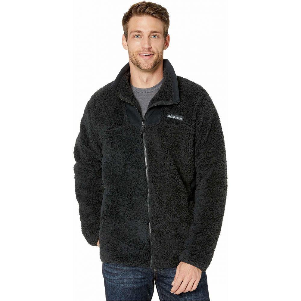 コロンビア Columbia メンズ フリース トップス【Winter Pass Fleece Full Zip】Black
