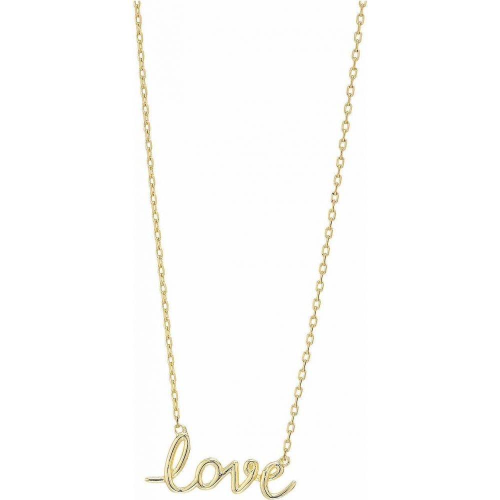 ケイト スペード Kate Spade New York レディース ネックレス ジュエリー・アクセサリー【Say Yes Love Pendant Necklace】