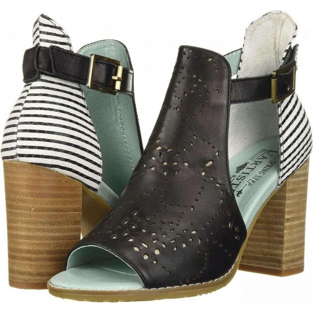 スプリングステップ L'Artiste by Spring Step レディース サンダル・ミュール シューズ・靴【Lashon】Black Multi