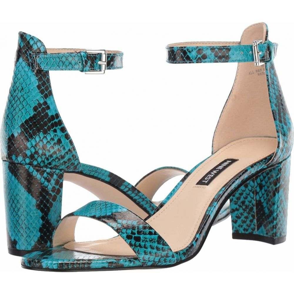 ナインウエスト Nine West レディース サンダル・ミュール シューズ・靴【Pruce Block Heeled Sandal】Aqua