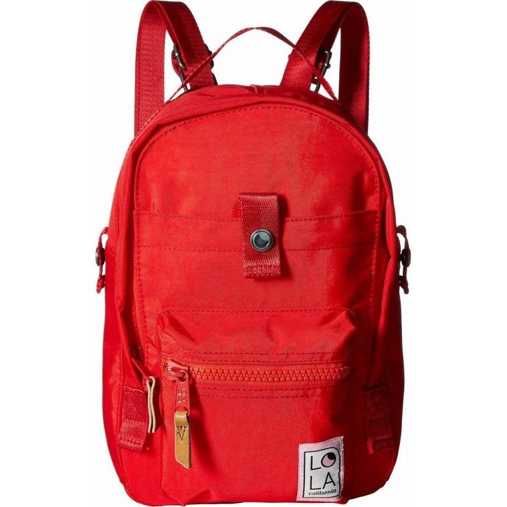 ローラ LOLA レディース バックパック・リュック バッグ【Utopian Small Backpack】Tomato