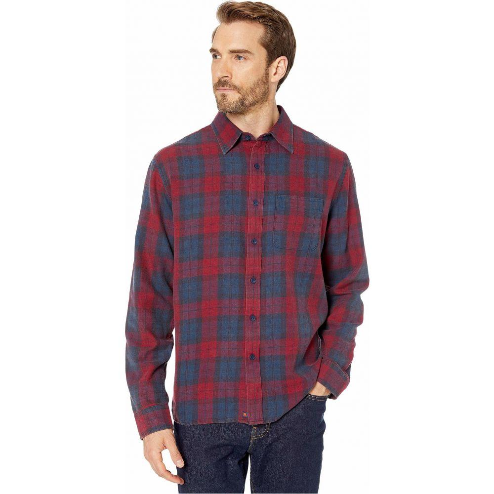 ノーマルブランド The Normal Brand メンズ シャツ トップス【Dakota Shirt】Red