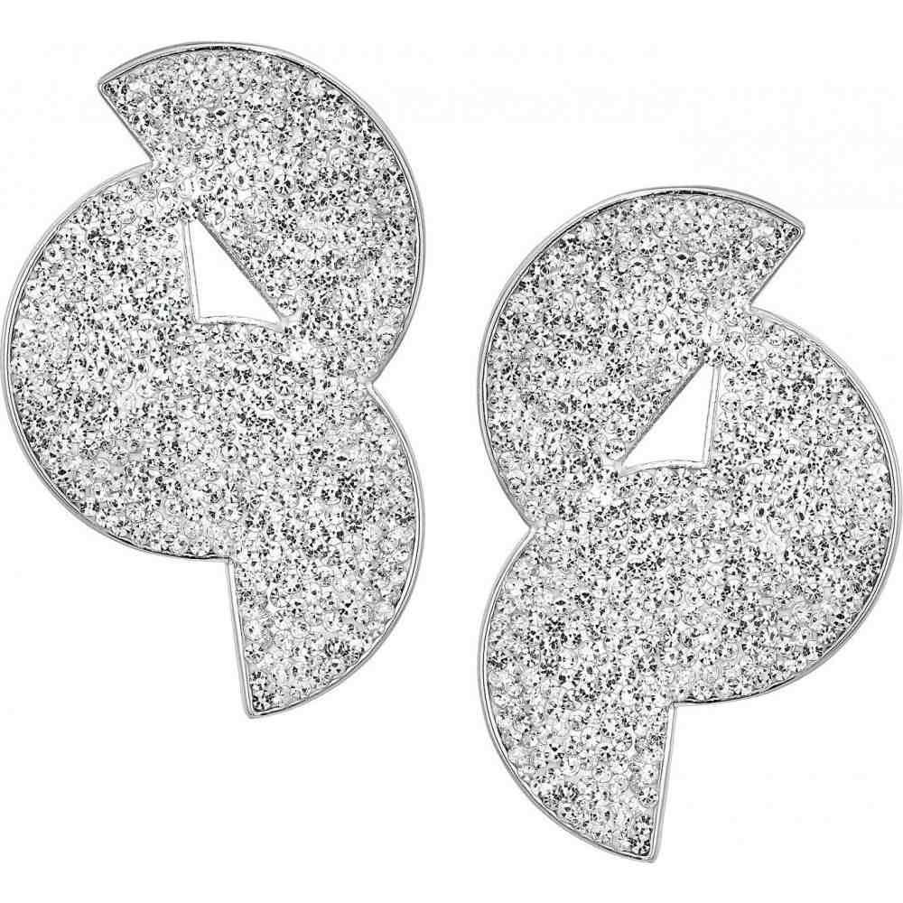 ケイト スペード Kate Spade New York レディース イヤリング・ピアス ジュエリー・アクセサリー【Mod Scallop Pave Statement Studs Earrings】Clear