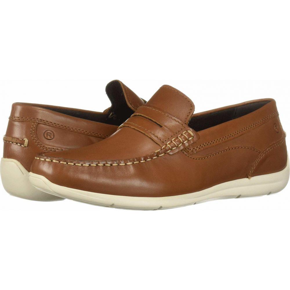 ロックポート Rockport メンズ ローファー シューズ・靴【Cullen Penny】Cognac