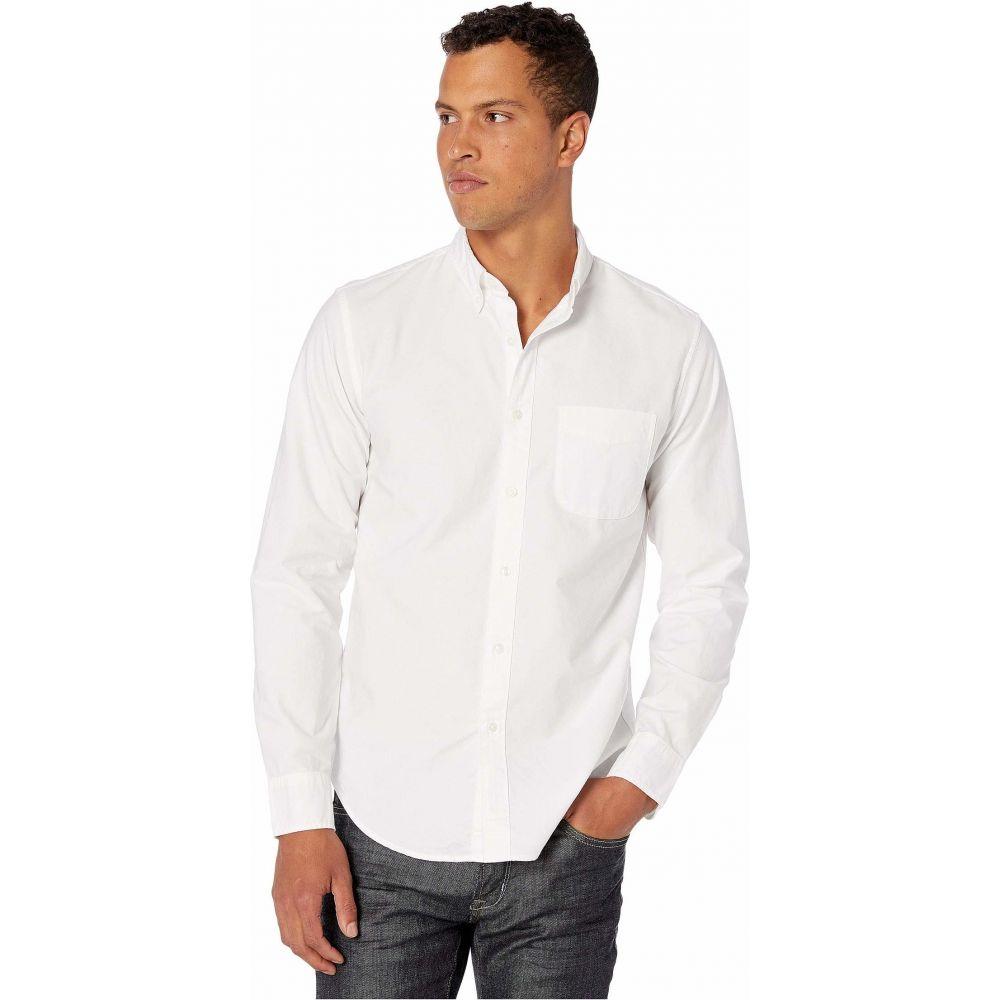 ジェイクルー J.Crew メンズ シャツ トップス【Slim American Pima Cotton Oxford Shirt with Mechanical Stretch】White