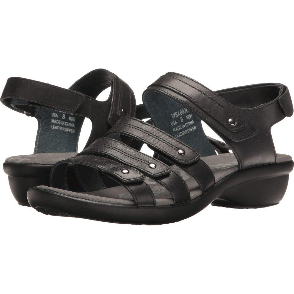 プロペット Propet レディース サンダル・ミュール シューズ・靴【Aurora】Black