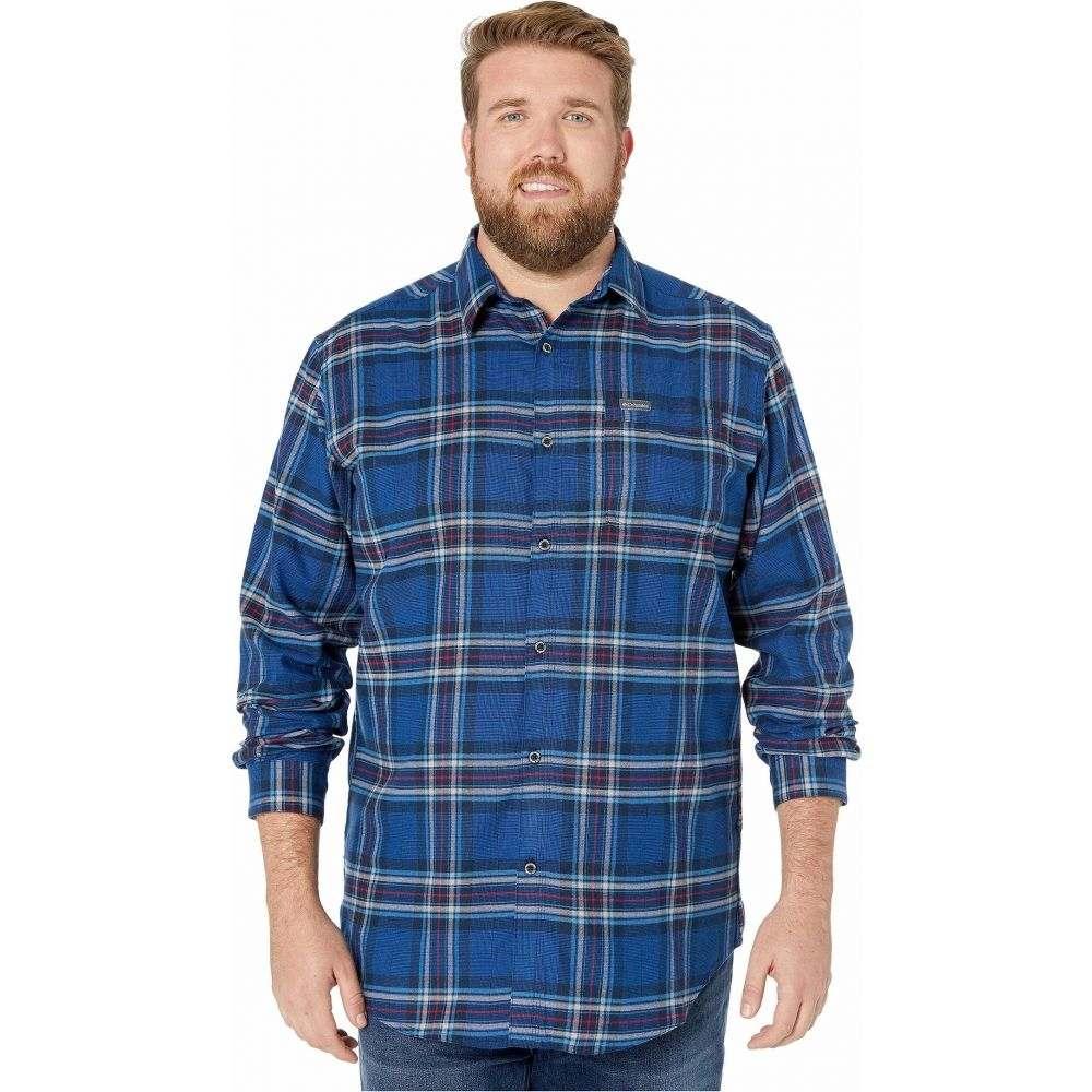 コロンビア Columbia メンズ シャツ 大きいサイズ トップス【Big & Tall Boulder Ridge Long Sleeve Flannel】Azul Tartan