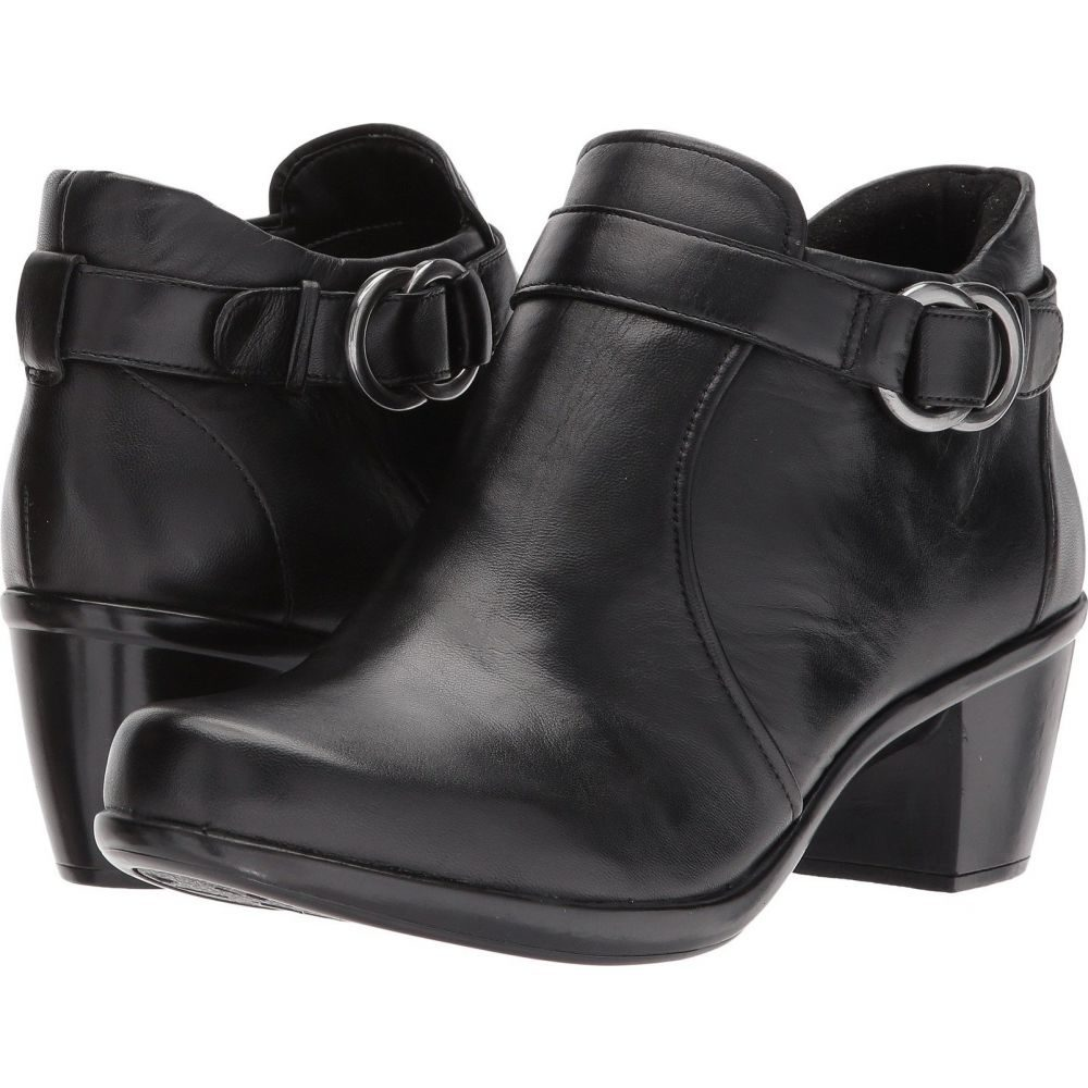 ナチュラライザー Naturalizer レディース ブーツ シューズ・靴【Elisa】Black Leather