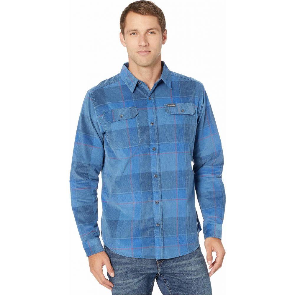 コロンビア Columbia メンズ シャツ トップス【Flare Gun Corduroy Shirt】Scout Blue Large Check