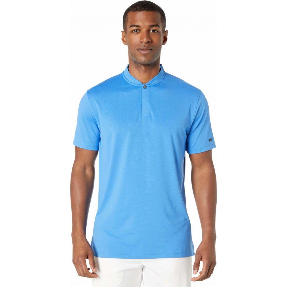 ナイキ Nike Golf メンズ ポロシャツ トップス【TW Dry Polo Blade】Pacific Blue/Pacific Blue