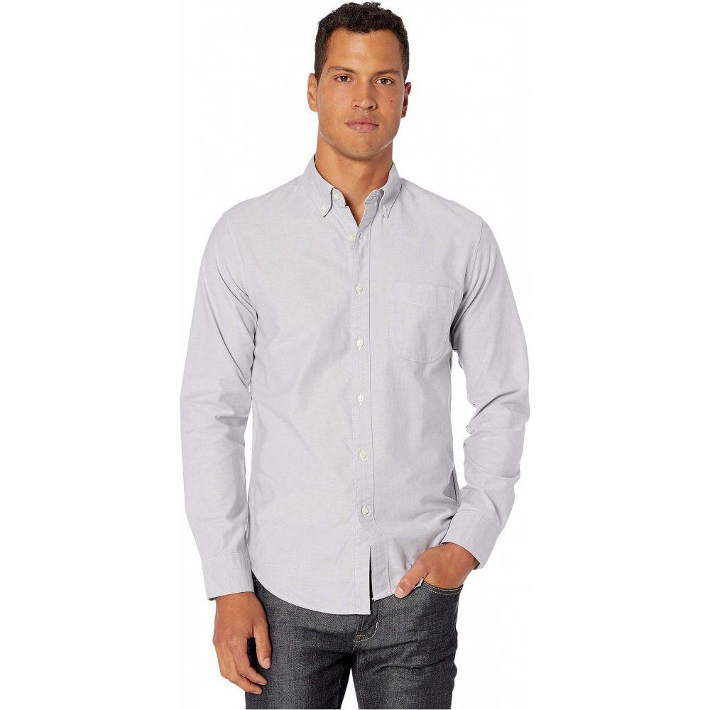ジェイクルー J.Crew メンズ シャツ トップス【Slim American Pima Cotton Oxford Shirt with Mechanical Stretch】Storm Cloud