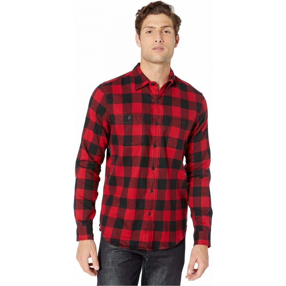 ジェイクルー J.Crew メンズ シャツ フランネルシャツ トップス【Slim Midweight Flannel Shirt in Buffalo Check】Buffalo Check Red