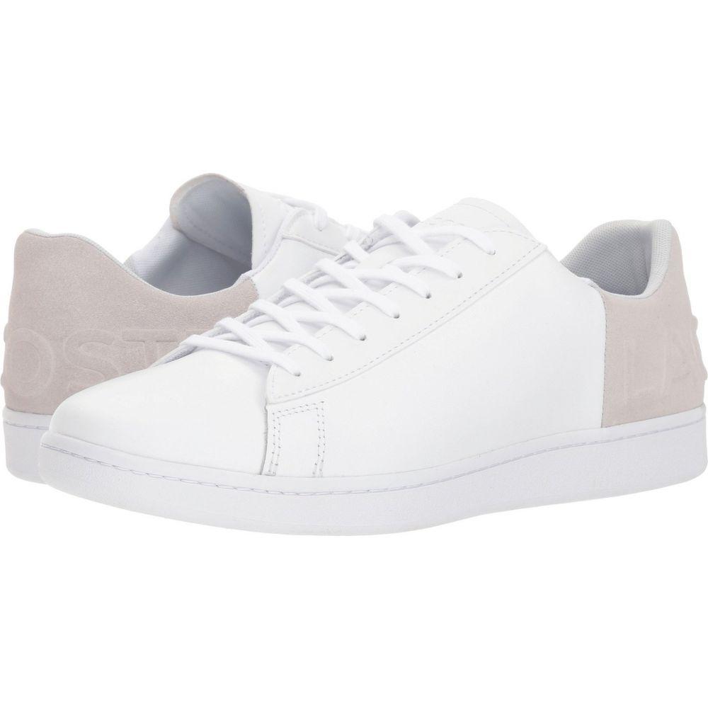 ラコステ Lacoste メンズ スニーカー シューズ・靴【Carnaby Evo 318 6】White/Light Grey