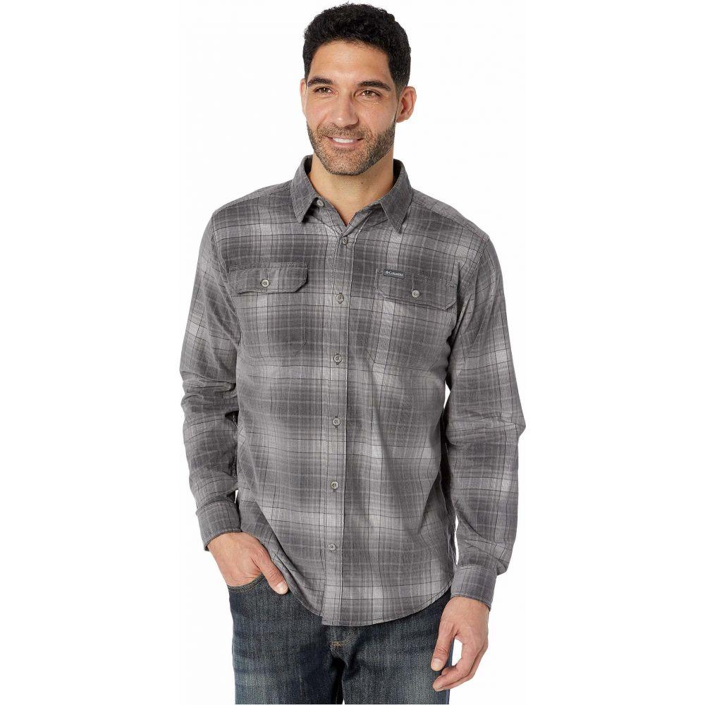 コロンビア Columbia メンズ シャツ トップス【Flare Gun Corduroy Shirt】City Grey Ombre Tartan