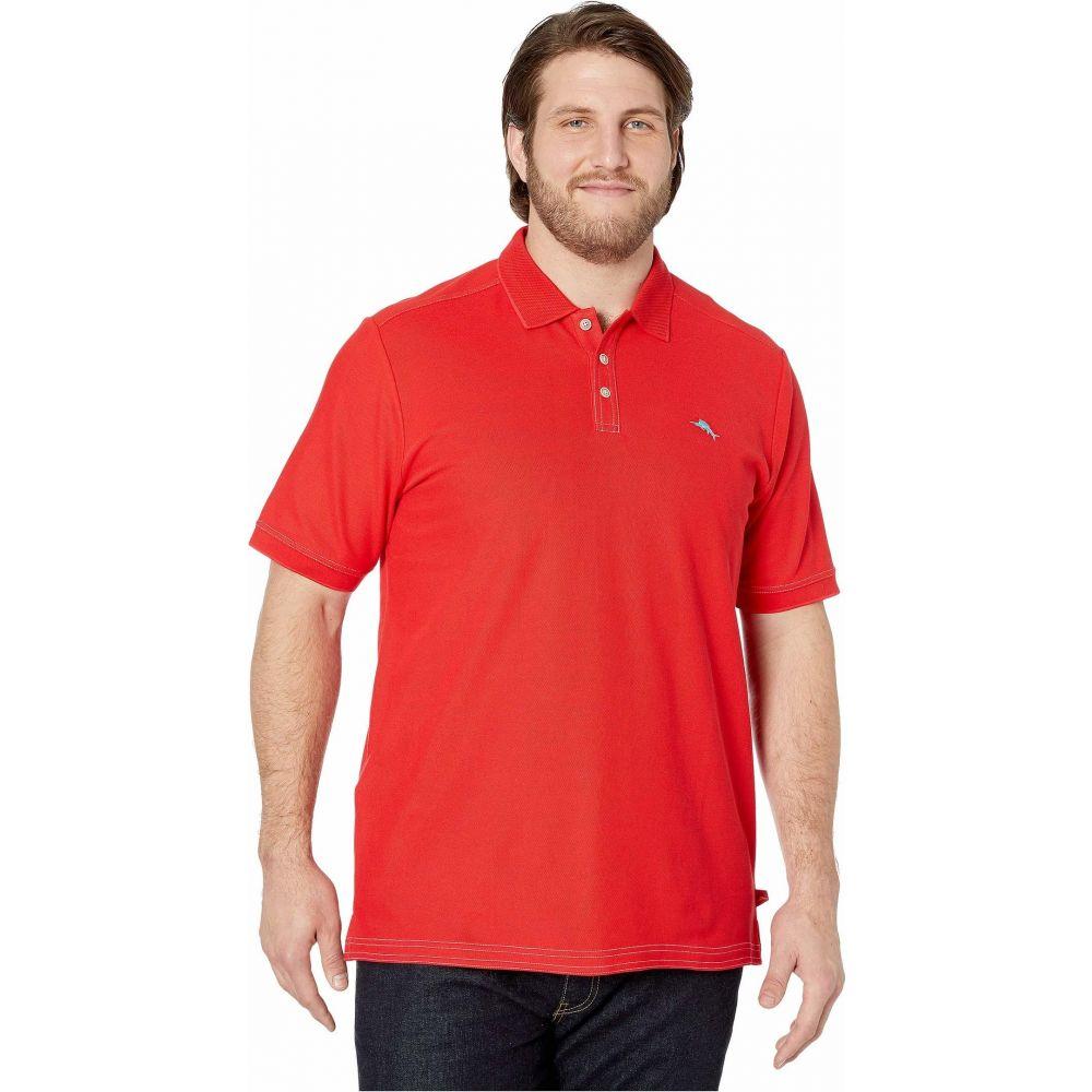 トミー バハマ Tommy Bahama Big & Tall メンズ ポロシャツ 大きいサイズ トップス【Big & Tall Emfielder 2.0 Polo】Cherry Lush
