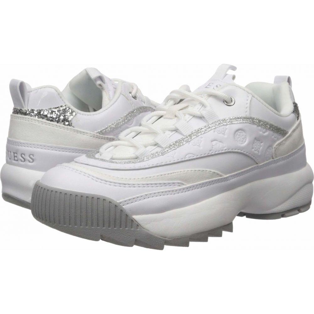 ゲス GUESS レディース スニーカー シューズ・靴【Kaysie】White