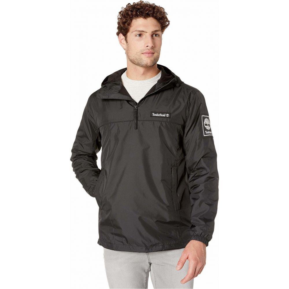 ティンバーランド Timberland メンズ ジャケット フード ウィンドブレーカー アウター【Windbreaker Pullover Hooded Jacket】Black