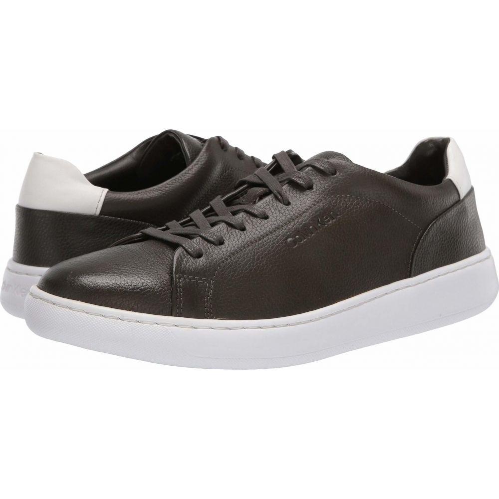 カルバンクライン Calvin Klein メンズ スニーカー シューズ・靴【Falconi】Dark Olive Tumbled Smooth