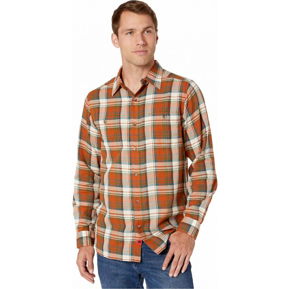 マウンテンカーキス Mountain Khakis メンズ シャツ トップス【Meridian Long Sleeve Shirt】Terracotta