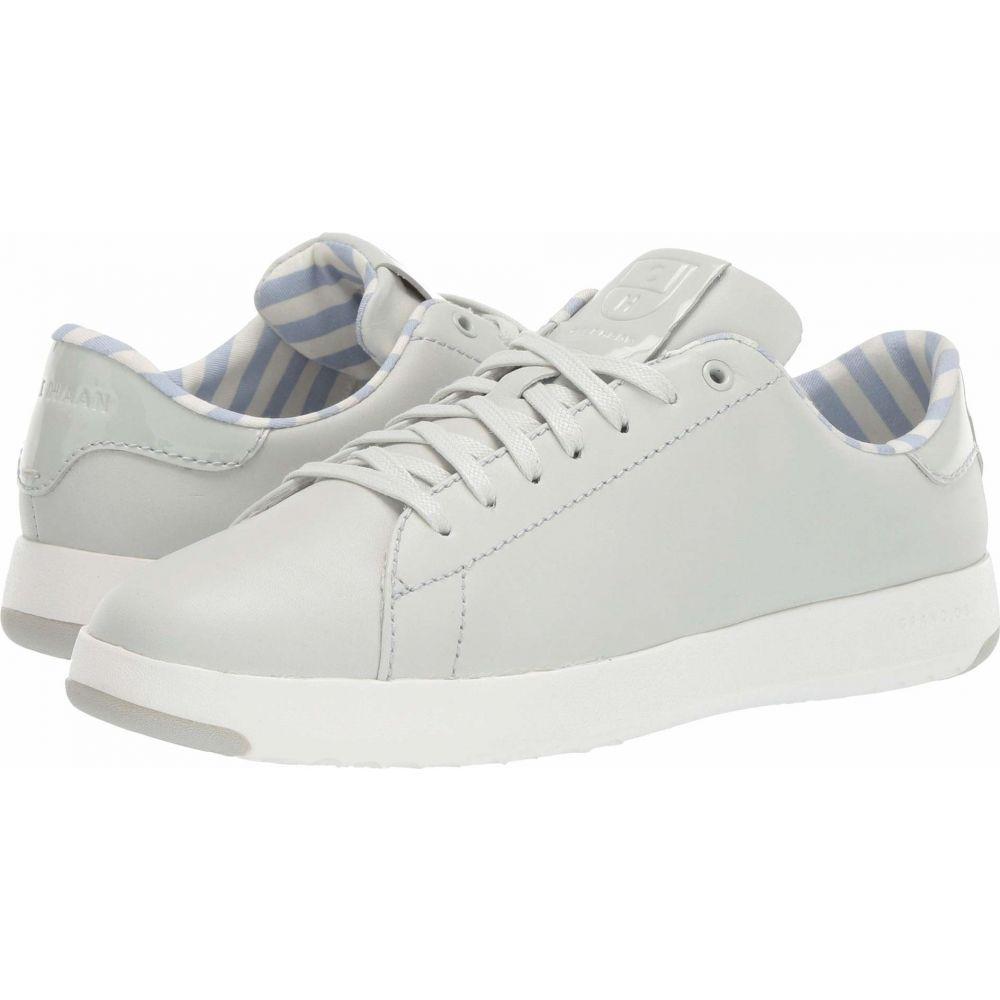 コールハーン Cole Haan レディース スニーカー シューズ・靴【GrandPro Tennis Sneaker】Smoke Leather/Patent Leather/Optic White